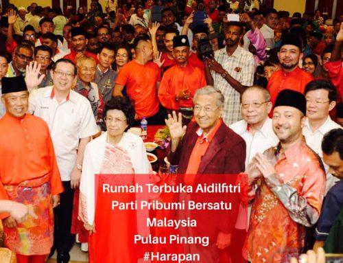 Event – Rumah Terbuka Aidilfitri PPBM Pulau Pinang